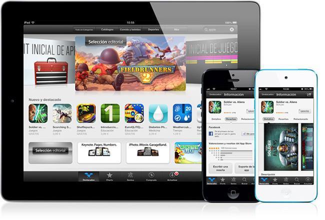 App Store de iOS 6