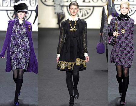 Anna Sui en la Semana de Nueva York Otoño-Invierno 2007-2008