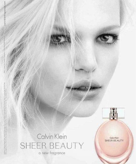 Sheer Beauty, la fragancia más joven de Calvin Klein