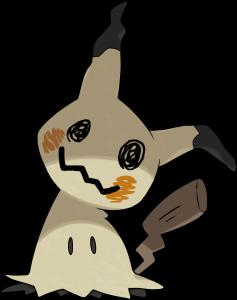 Pokemon Sol Luna Mimikyu