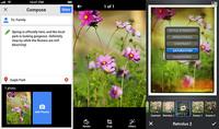 Las aplicaciones de Google+ ahora con tecnología Snapseed para retoque