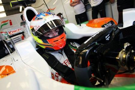 Paul Di Resta con opciones de ser piloto titular de Force India en 2011