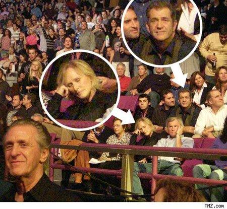 Glenn Close se echa una siesta en un concierto de Springsteen