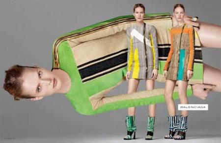 Campaña de Balenciaga Primavera-Verano 2010, ¿Jennifer Connelly sigue promocionando la línea?