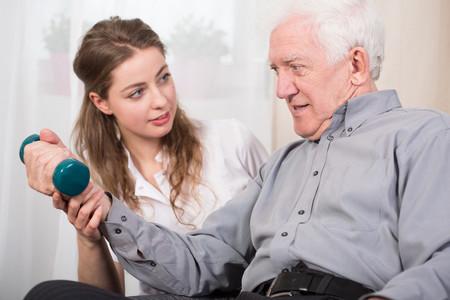 Fuerza en ancianos
