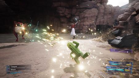 El nuevo gameplay de Final Fantasy VII Remake muestra en acción a las invocaciones de Chocobito, Rubí y Cactilio