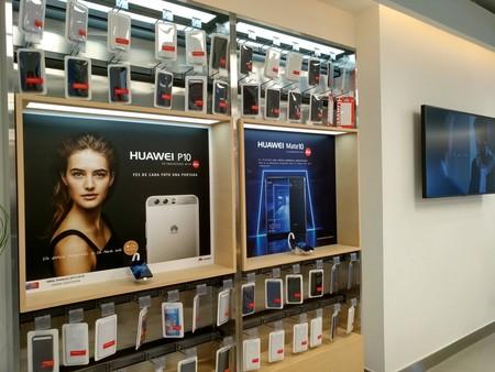 La tienda Huawei en Barcelona