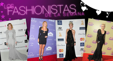 Los fashionistas de la semana: Miley Cyrus, ¿va de sarao o de velatorio?