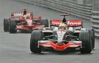 Lewis Hamilton gana un caótico Gran Premio de Mónaco