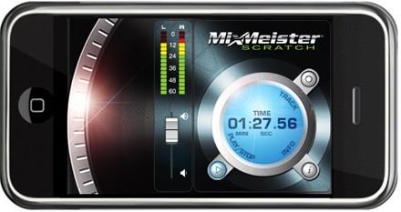 MixMeister Scratch, haz de DJ con tu iPhone