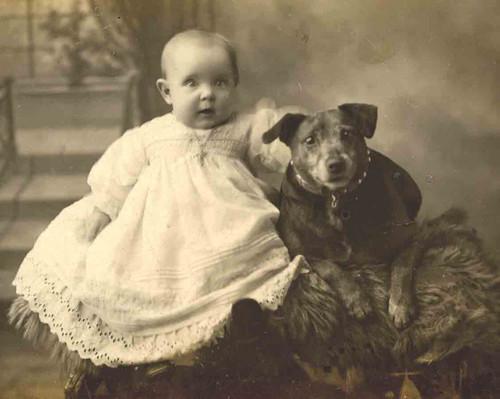 Un viaje al pasado con Libby Hall y su extraordinaria colección de fotos de perros