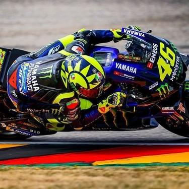 Valentino Rossi valora la retirada después de verse superado por Maverick Viñales en la general de MotoGP