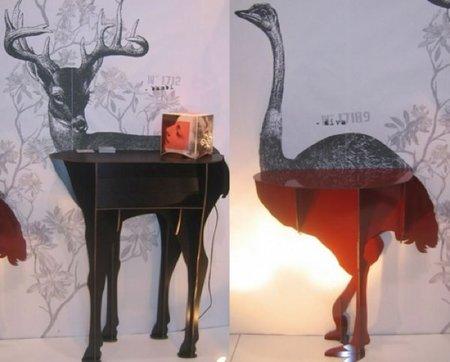 consola bambi avestruz