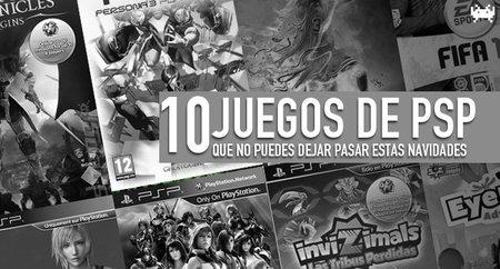 Diez juegos de PSP que no puedes dejar pasar estas navidades