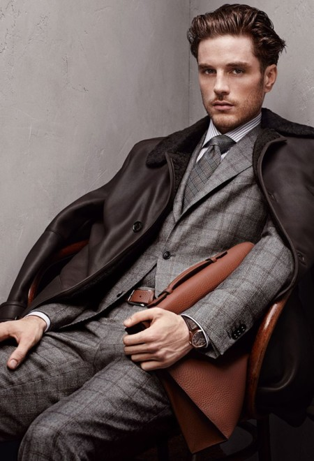 Ermenegildo Zegna Fall Winter 2015 Lookbook 015