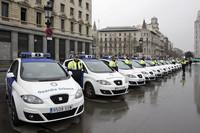 La Guardia Urbana de Barcelona recibe nuevos coches