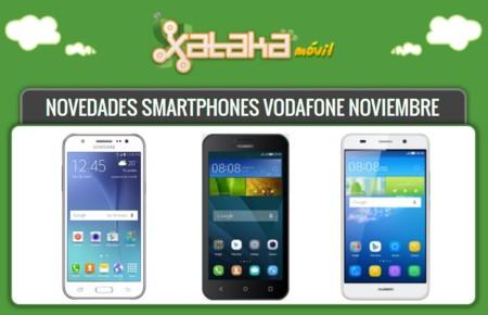 Samsung Galaxy J5, Huawei Y5 y Huawei Y6 entre las novedades Vodafone este mes: precios y tarifas