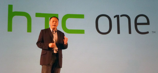Peter Chou, CEO de HTC