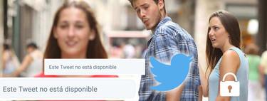 """""""Este Tweet no está disponible"""": el mensaje que no paras de ver en Twitter tiene su origen en un error"""