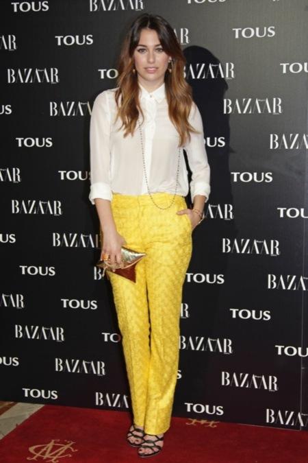 Blanca Suarez Harpers Bazaar Tous 2012