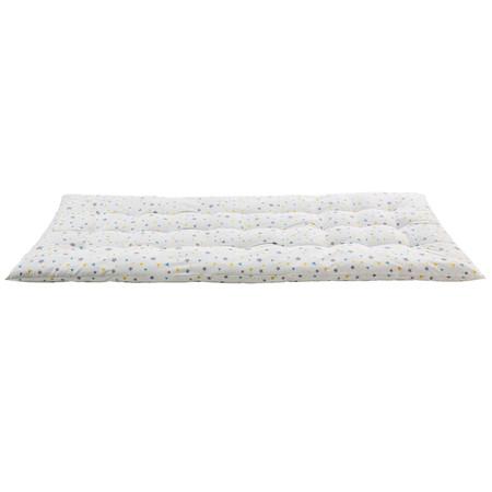 Colchon De Suelo De Algodon Blanco Con Motivos Decorativos 90x190 1000 6 20 179764 1