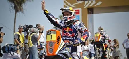 Cyril Despres vencedor del Rally Dakar 2013