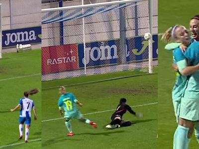 Así juega Bárbara Latorre, la autora del gol del año que bien podría haber firmado Messi