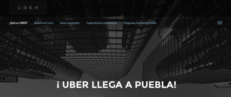 La llegada de Uber a Puebla es inminente