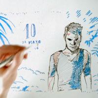 Nathan Drake hace un resumen de sus aventuras al estilo Draw my Life