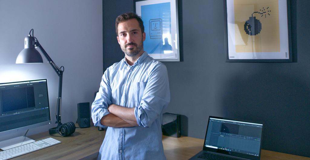 El equipo de Pedro Santamaría, responsable de vídeo de Xataka: ordenador, cámara, móvil y más
