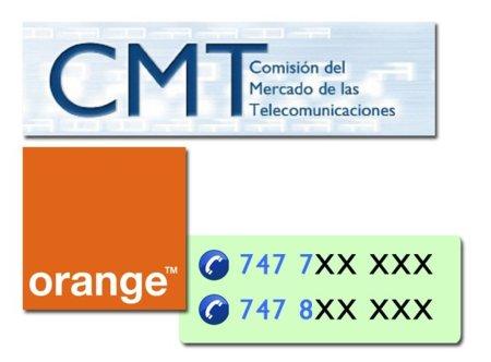 La CMT comienza a asignar números móviles comenzados en 7, la primera es Orange