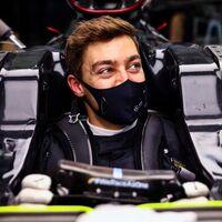George Russell como respuesta a si cualquiera puede ganar en Fórmula 1 con el Mercedes de Lewis Hamilton