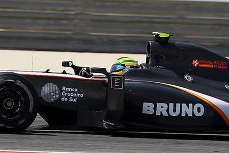 Bruno Senna y HRT pasito a paso