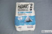 Marinas, patatas chips con sal de Formentera. Las probamos