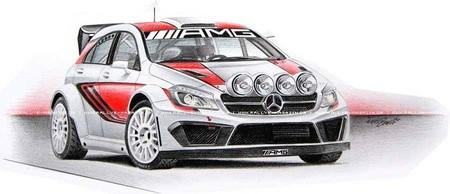 Mercedes AMG WRC