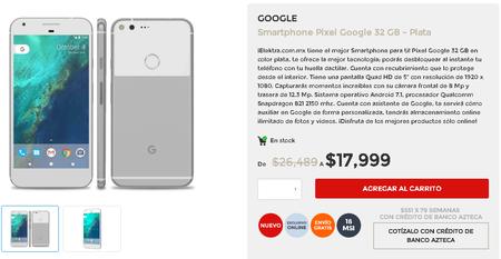 Google Pixel Mexico Elektra