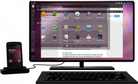 Android Ubuntu en smartphone