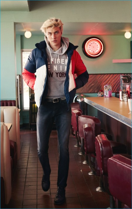Lucky Blue Smith 2016 Hilfiger Denim Fall Winter Campaign 002
