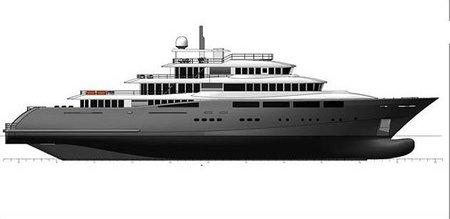 Nuevo barco de lujo, Denison de 68 metros HydroTec Global Explorer