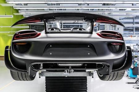 El Porsche 918 Spyder definitivo, en el Salón de Frankfurt