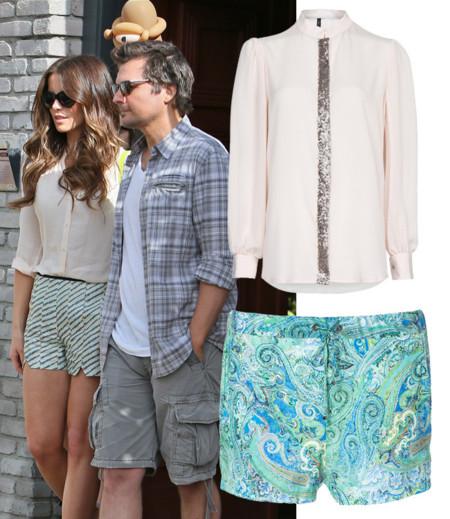 Kate Beckinsale Famosas shorts