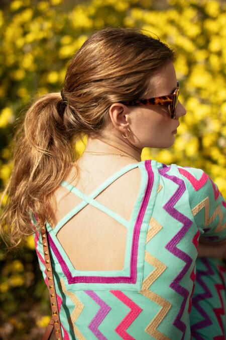 vestido en zigzag de ana boyer