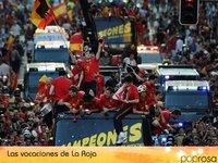Los jugadores de La Roja se van de vacaciones