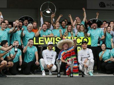 Lewis Hamilton gana el GP de México pero... ¿quién se quedó con el tercer lugar?