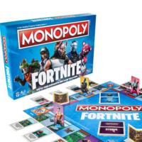Fortnite tendrá su propio Monopoly en octubre y se confirma su propia línea de blasters Nerf