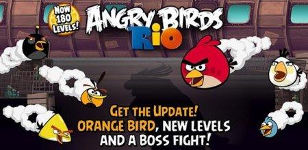 Angry Birds Rio recibe su última actualización