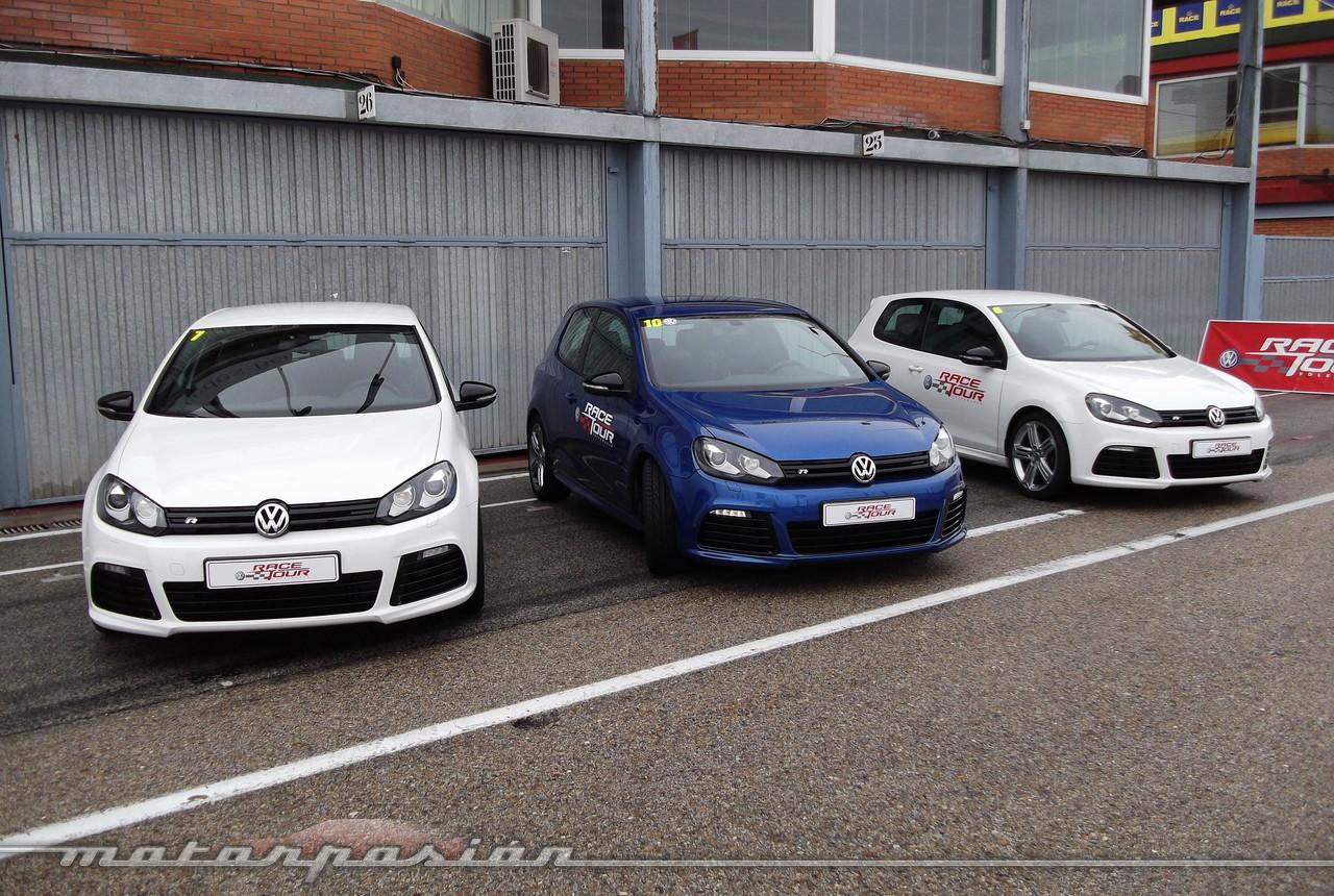 volkswagen golf r y scirocco r prueba 928