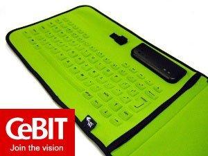 Cebit 2006: teclado Eleksen para los UMPC