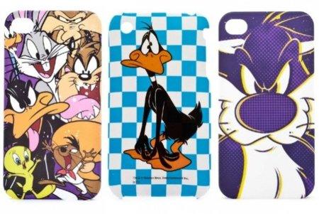 Fundas para móvil de Blanco con motivos de Looney Tunes