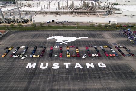 El Ford Mustang ya ha superado las 10 millones de unidades fabricadas... ¡en 54 años de historia!